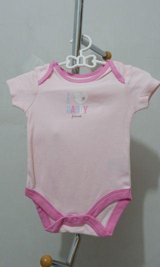 Mothercare bodysuits/baju bayi/jumper/1 set isi 3