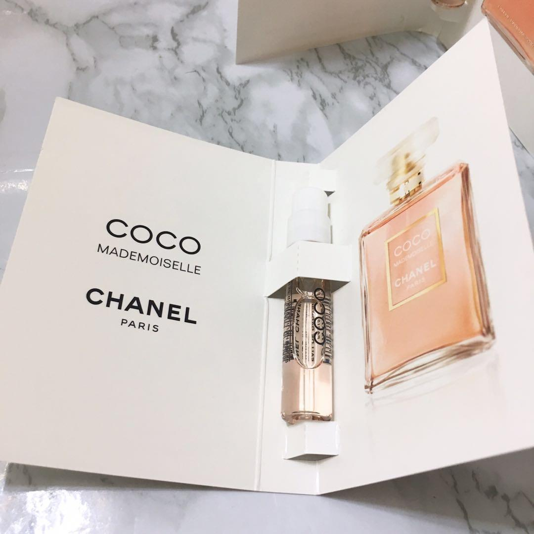 2x Chanel 香水 Perfume Sample
