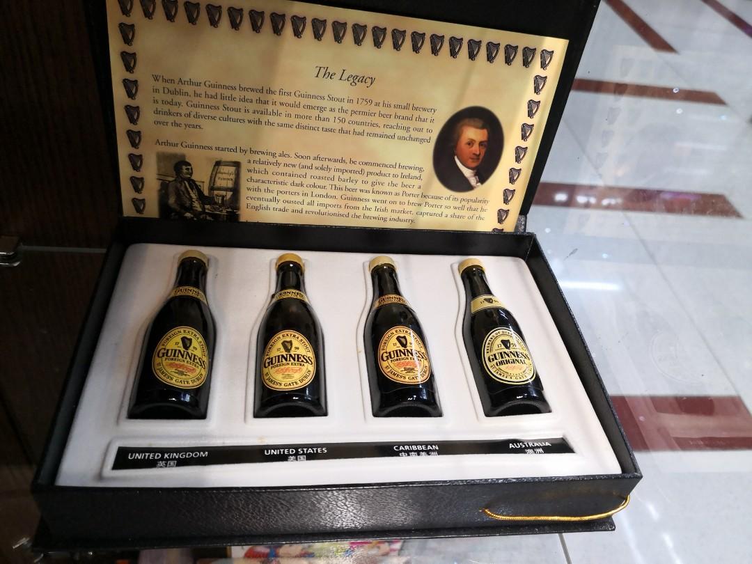 健力士波打酒 酒辦4枝 Guinness Stout miniature bottles