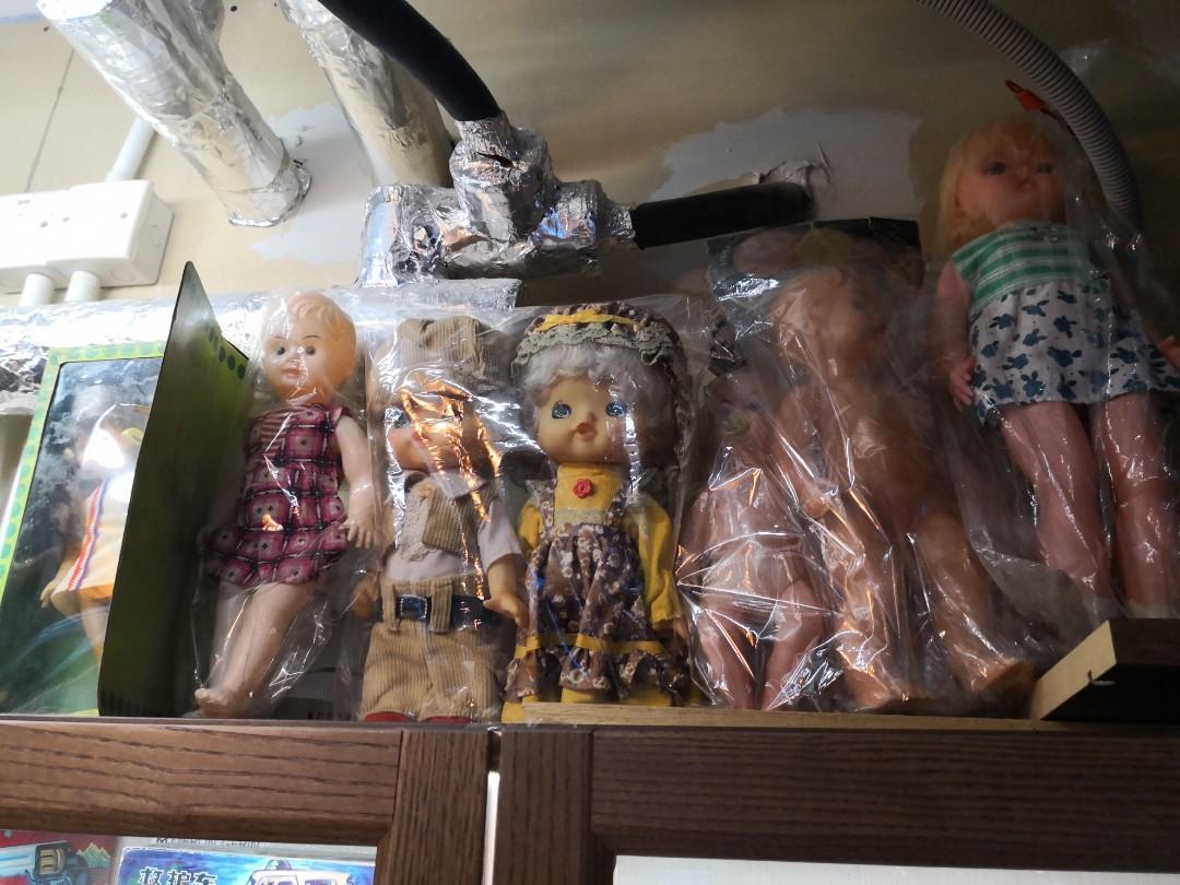 舊香港製 洋娃娃