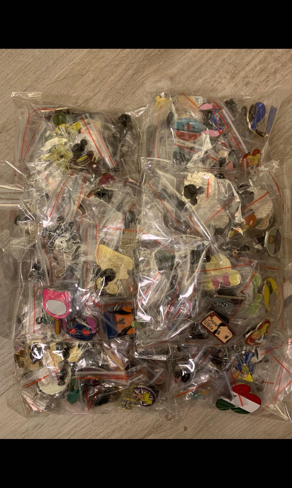 迪士尼徽章 襟章 Disney Pins Lot pin disneyland disney pin有大量 買多可議