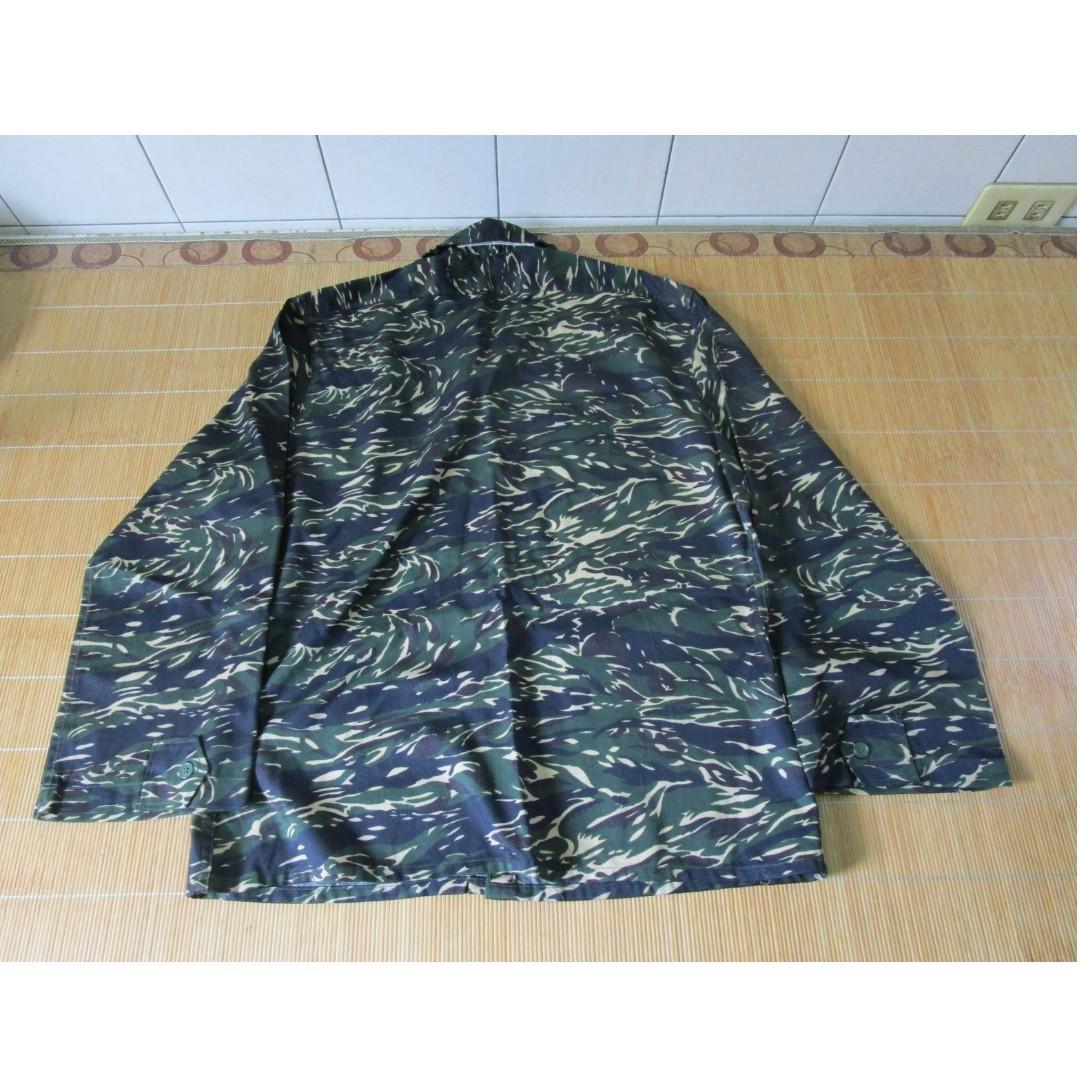 陸戰隊迷彩長袖野戰衣 (B)