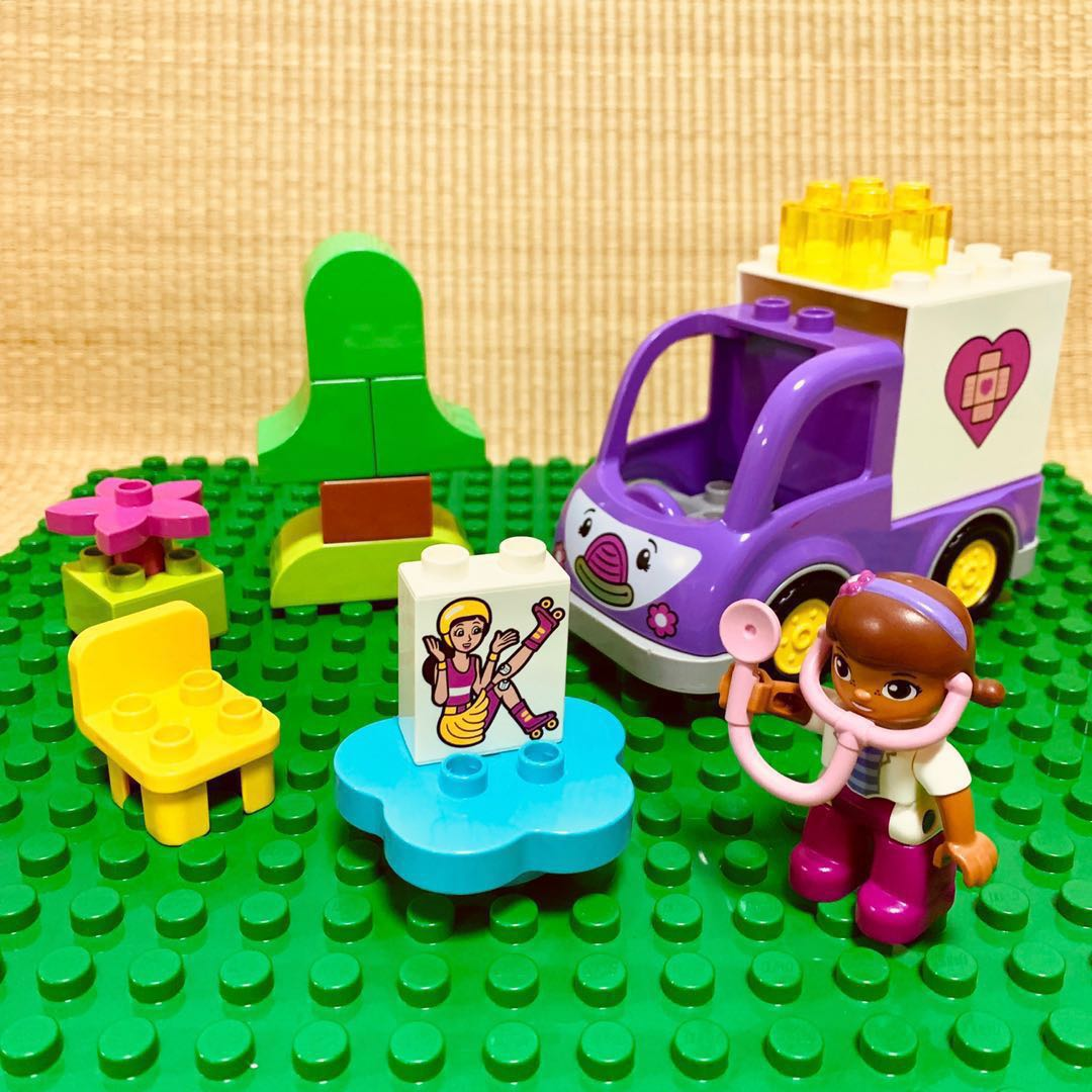 Reserved Pl Ln Lego Duplo Doc Mcstuffins Rosie The Ambulance