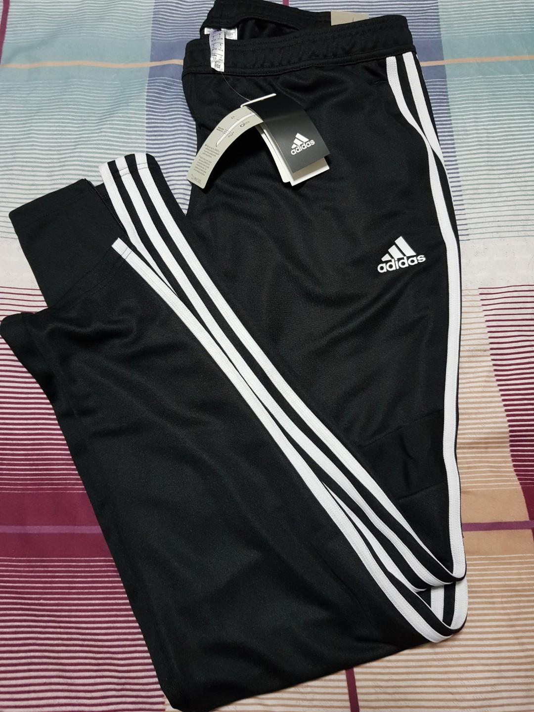 Adidas Trackpants, Sports, Sports Apparel on Carousell