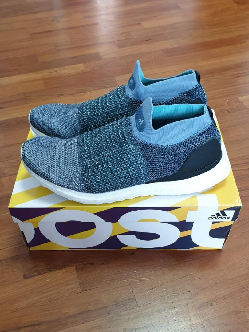 low priced 07c0d 4e8a3 Adidas ultraBoost Laceless Parley, Men's Fashion, Footwear ...
