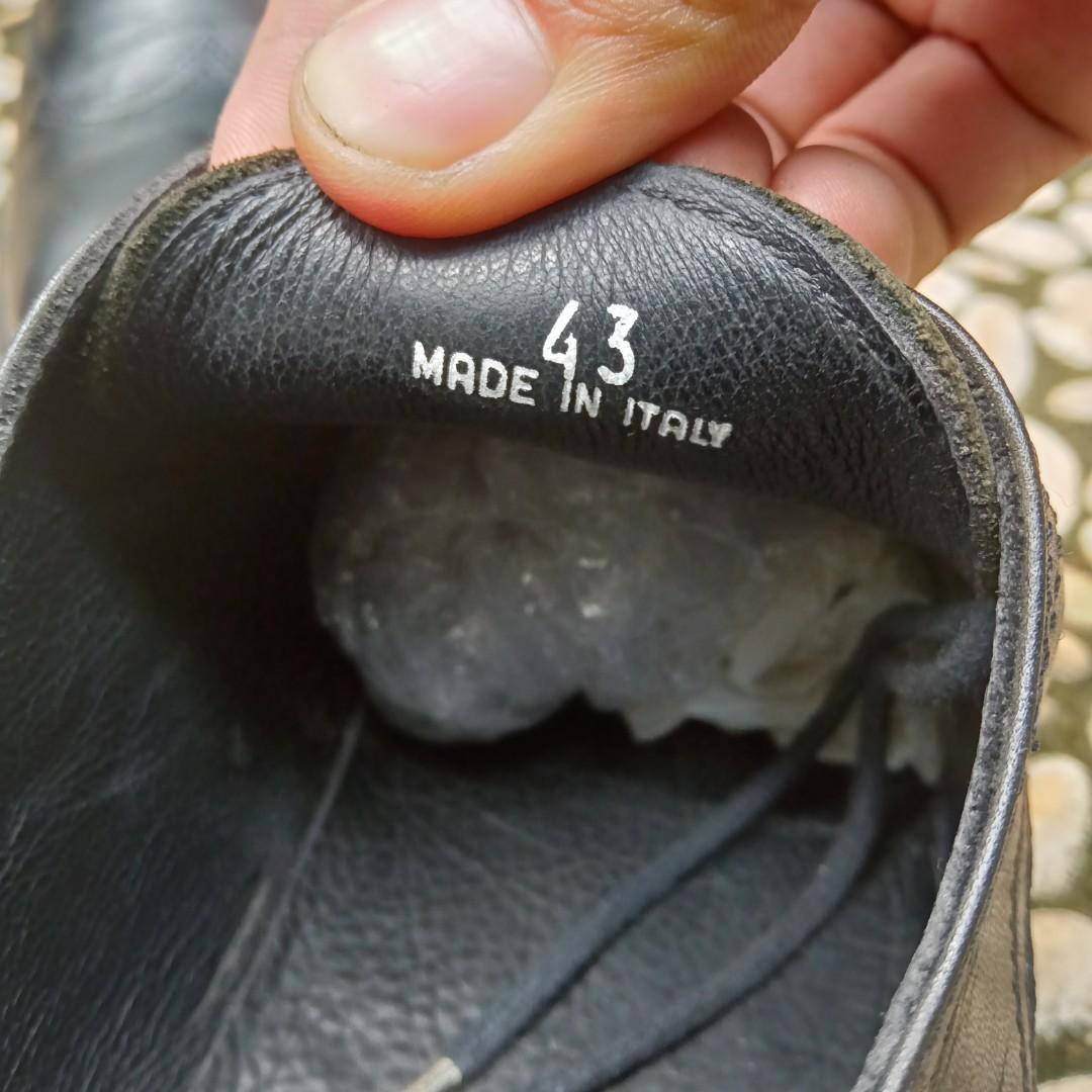 Aigner tali sepatu pria original