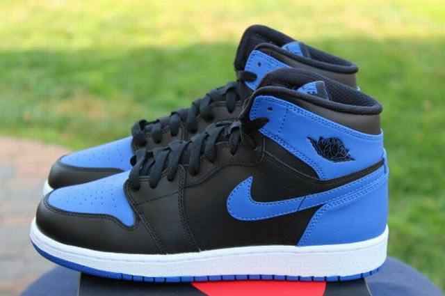 d41cdef3 Air Jordan 1 High Retro OG ROYAL BLUE GS, Men's Fashion, Footwear ...