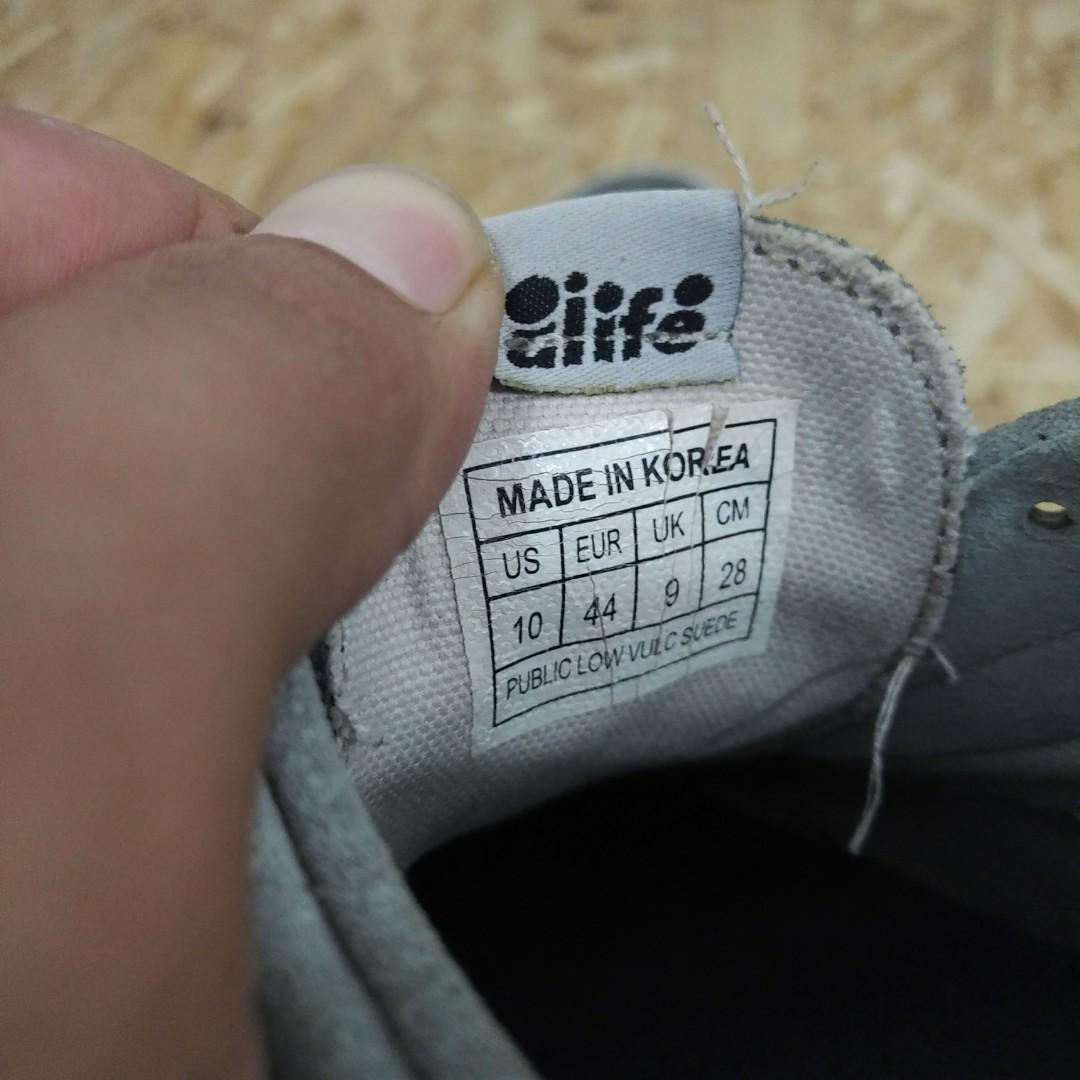 Alife NYC Public Low Vulc Suede Shoes Original
