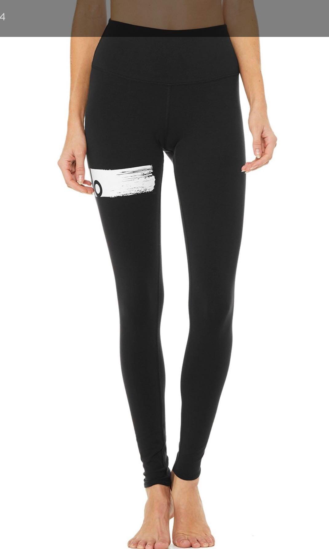 044d3913c654a Alo Yoga Class Print High-waist Airbrush Leggings, Sports, Sports ...