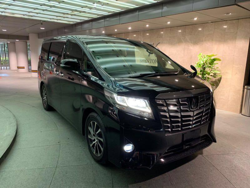 Alphard 2.5A For Rent - Z11 Usage