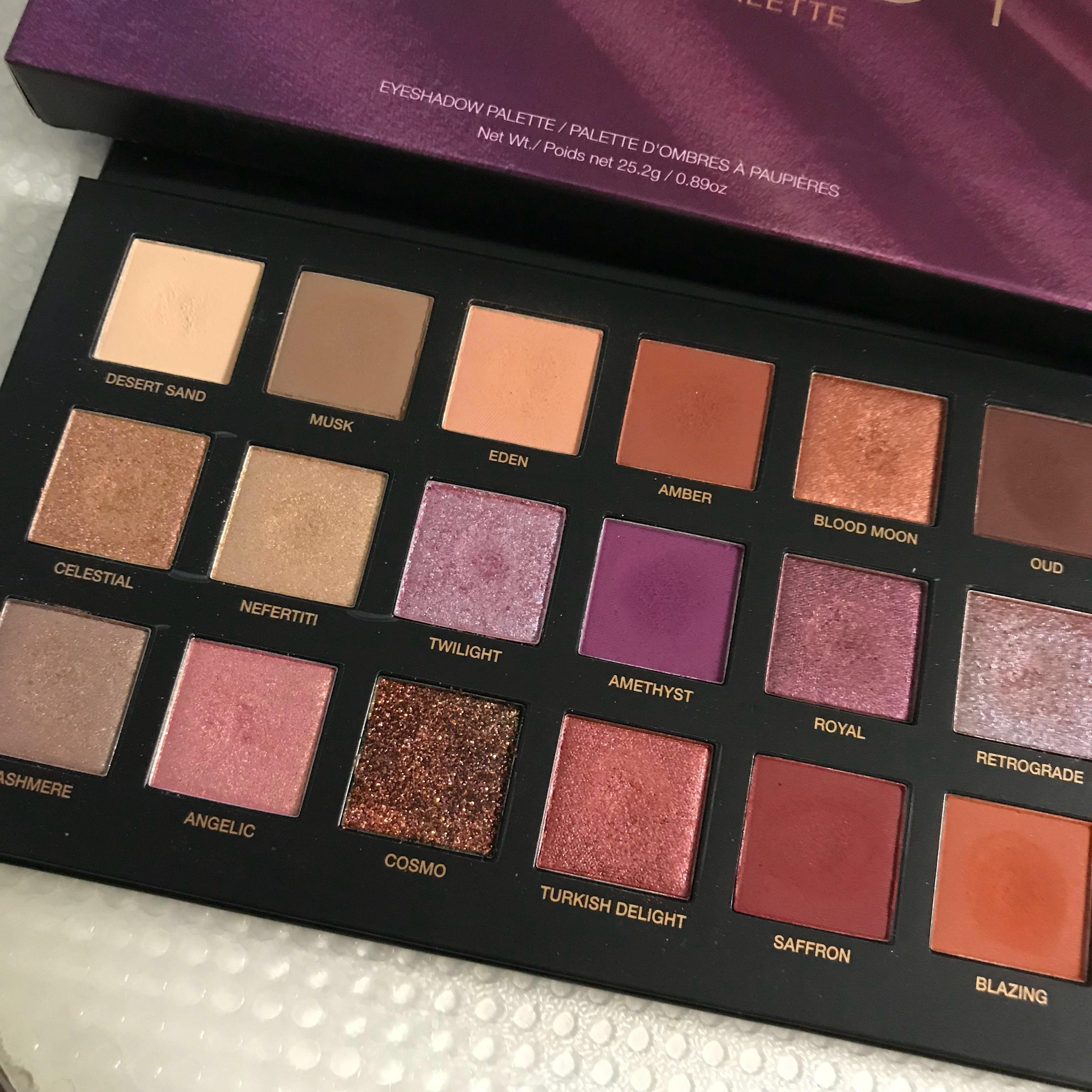 Authentic! Huda beauty desert dusk palette