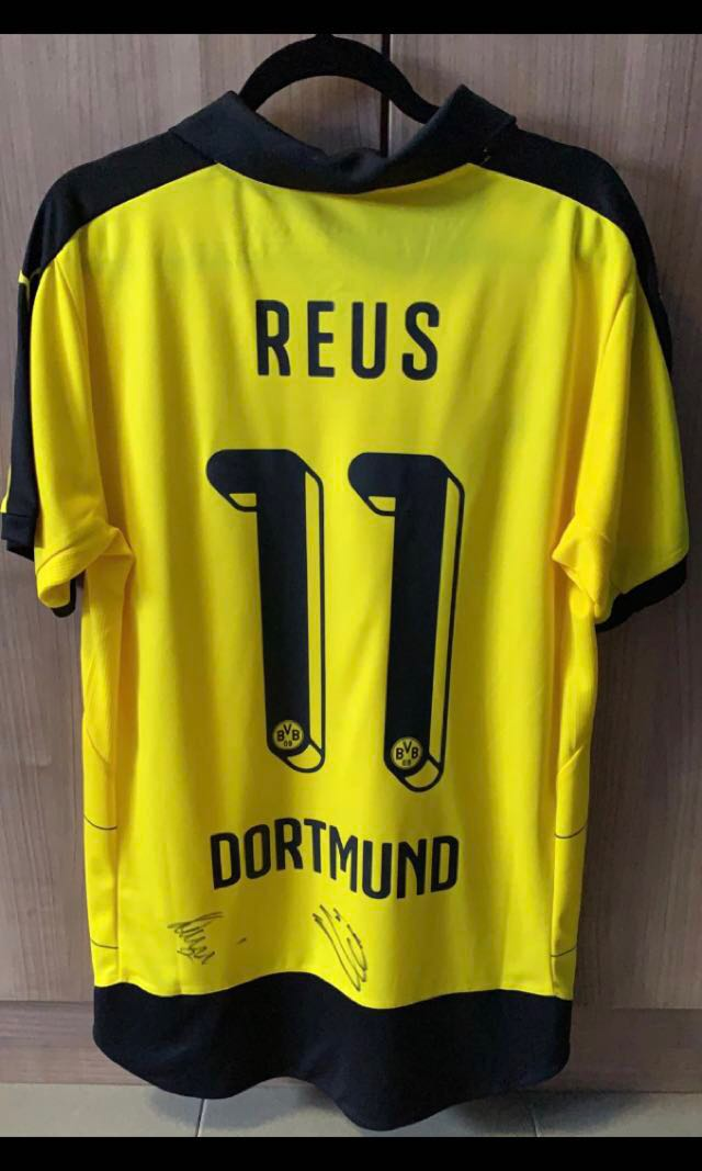 huge discount 6035f f6d32 Autographed Reus Jersey, Sports, Sports Apparel on Carousell
