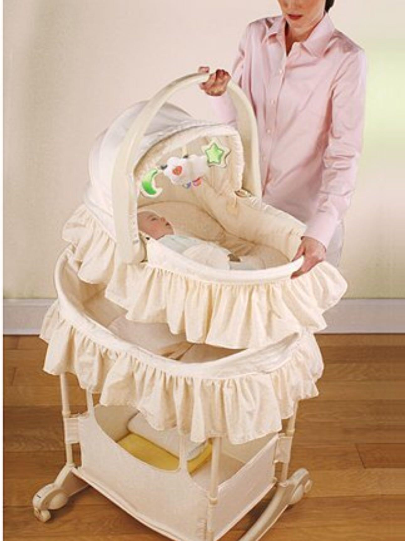 """Baby bassinet- the first years 5 in 1 """"carry-me-near"""""""
