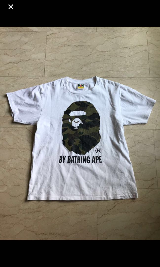 a749ea5f Bape tee, Men's Fashion, Clothes, Tops on Carousell