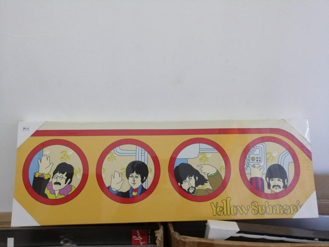 Beatles Canvas Poster