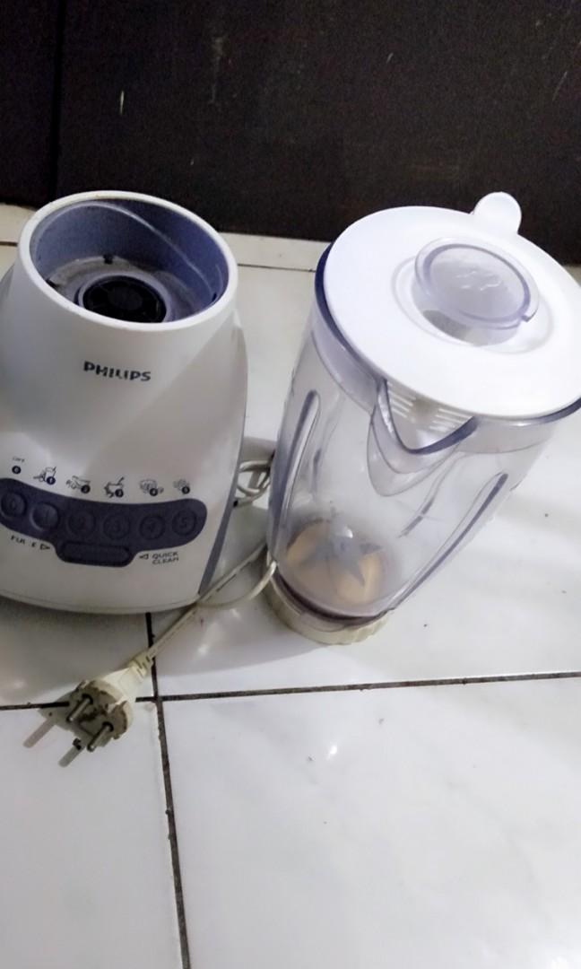 Blender Philips normal tidak ada kendala blm pernah servis