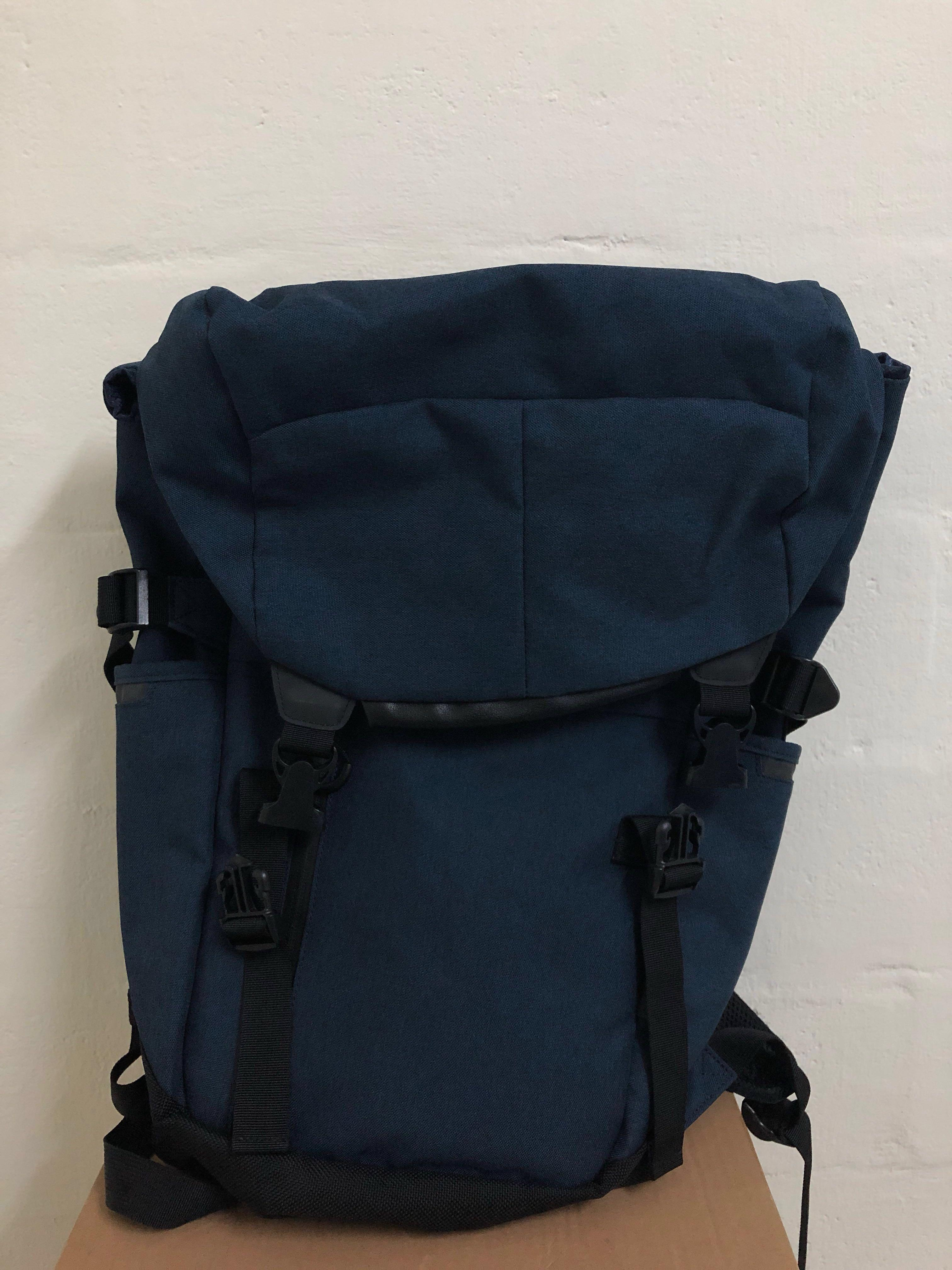 Blue Back Pack from Tokyu Hands, Men's Fashion, Bags