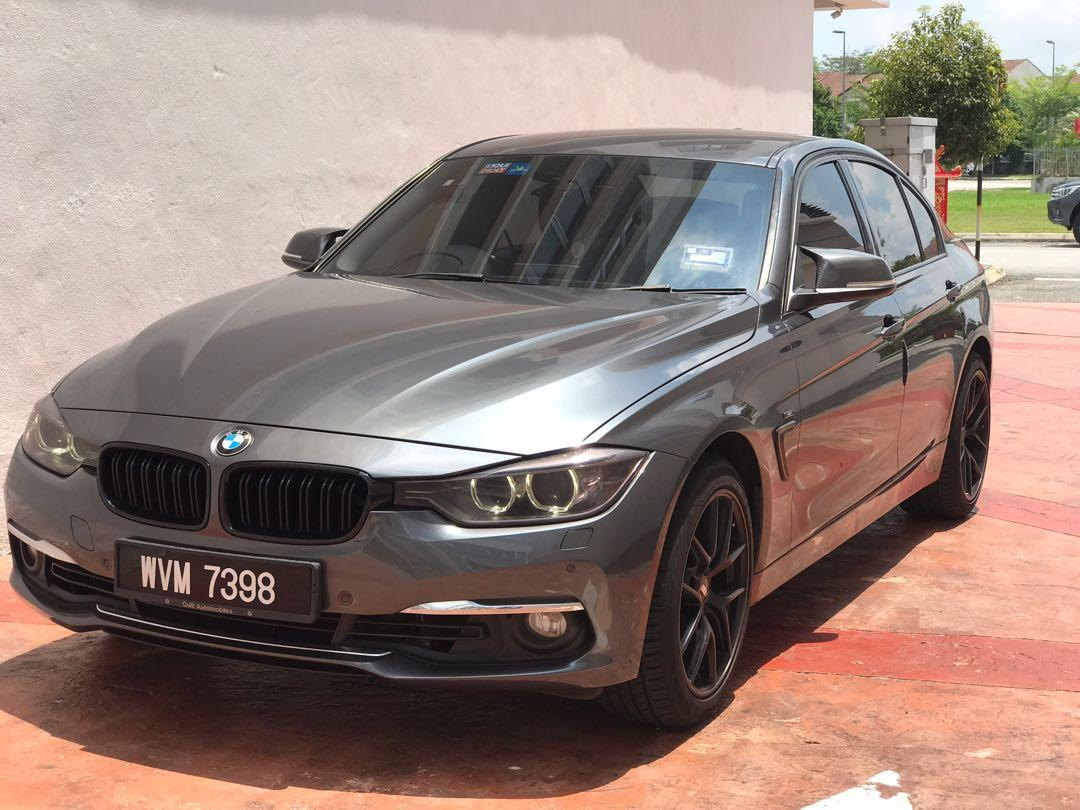 BMW F30 ( 320D sport ) direct owner on Carousell