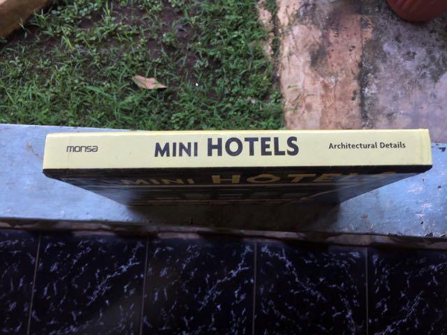 """Book """"Mini Hotels"""""""