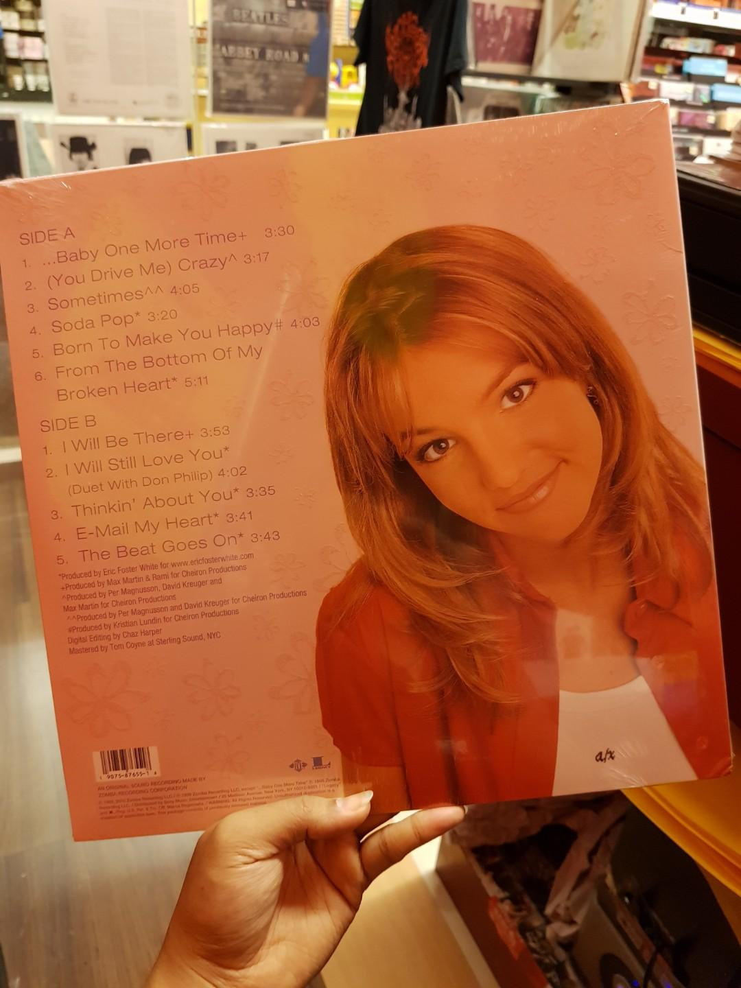 Britney Spears - Baby One More Time LP