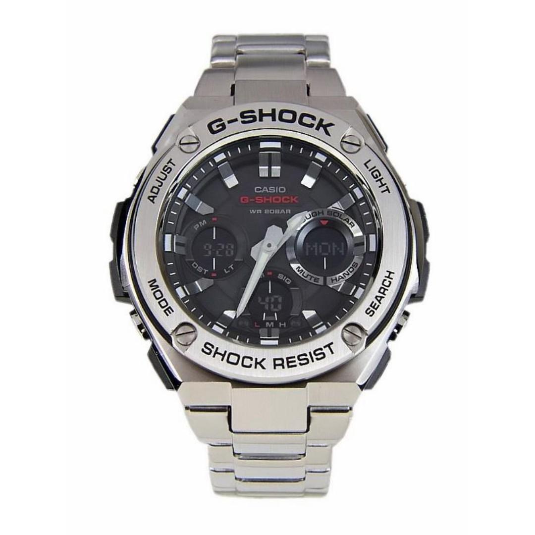 Casio G shock Casio 錶 GST-S110D-1A  GST-S110D-1   GST-S110D   GST-S110