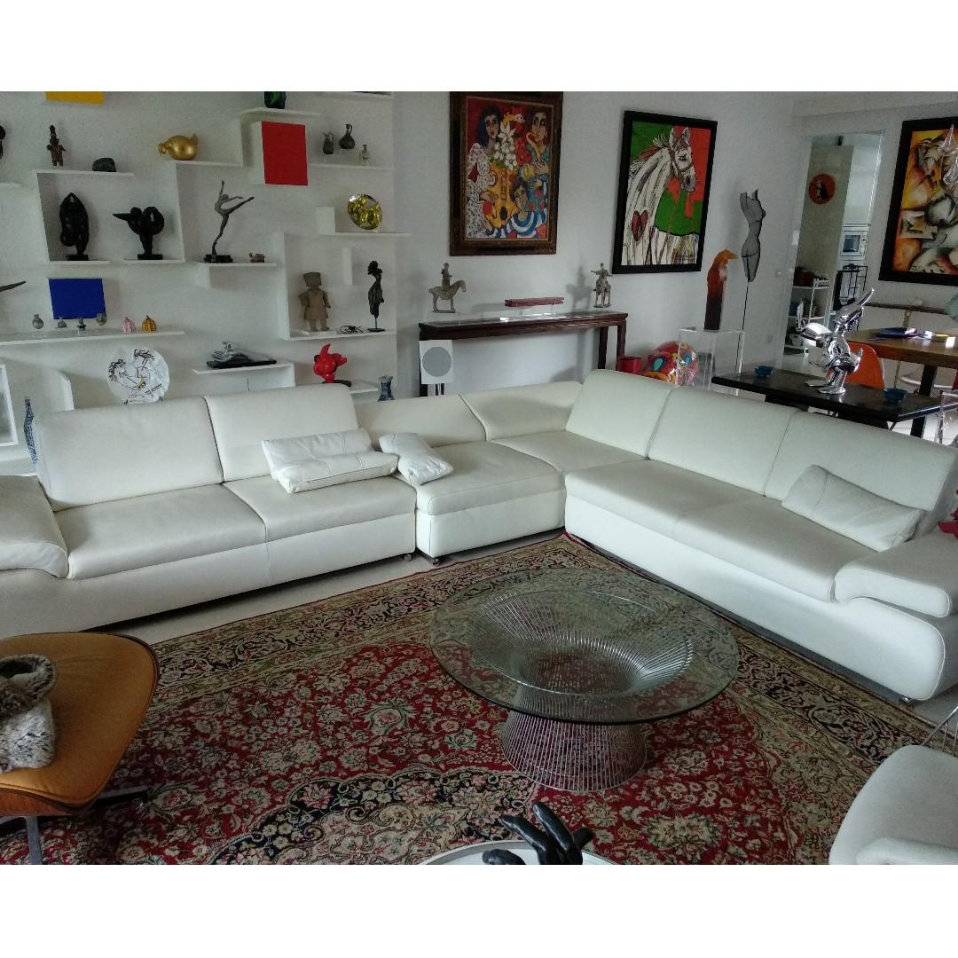 Castilla Design Leather Sofa Furniture Sofas On Carousell