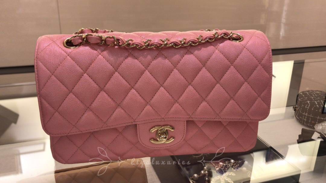 56d15481ebcc Chanel 19S iridescent pink , Luxury, Bags & Wallets, Handbags on ...