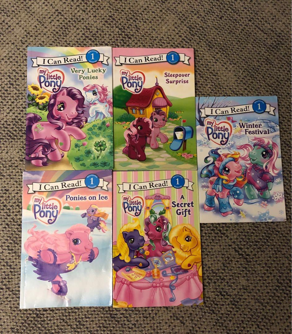 Children's book 兒童圖書 suitable for age 3-5. My Little Pony