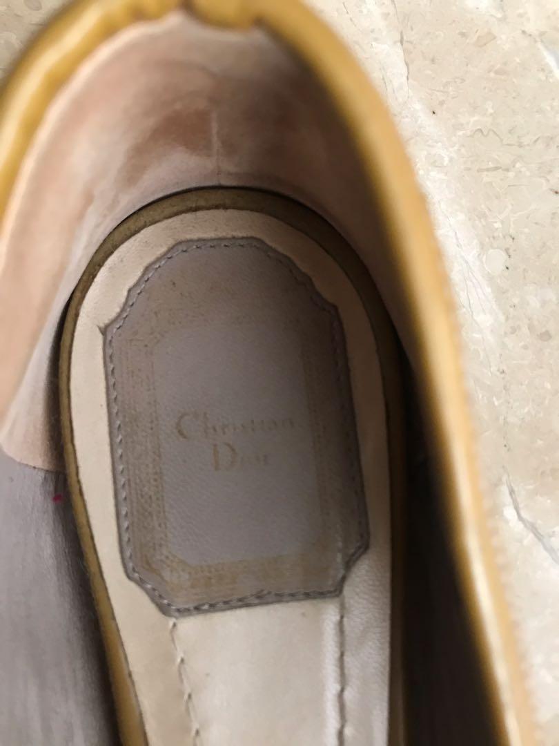Christian Dior flat shoes