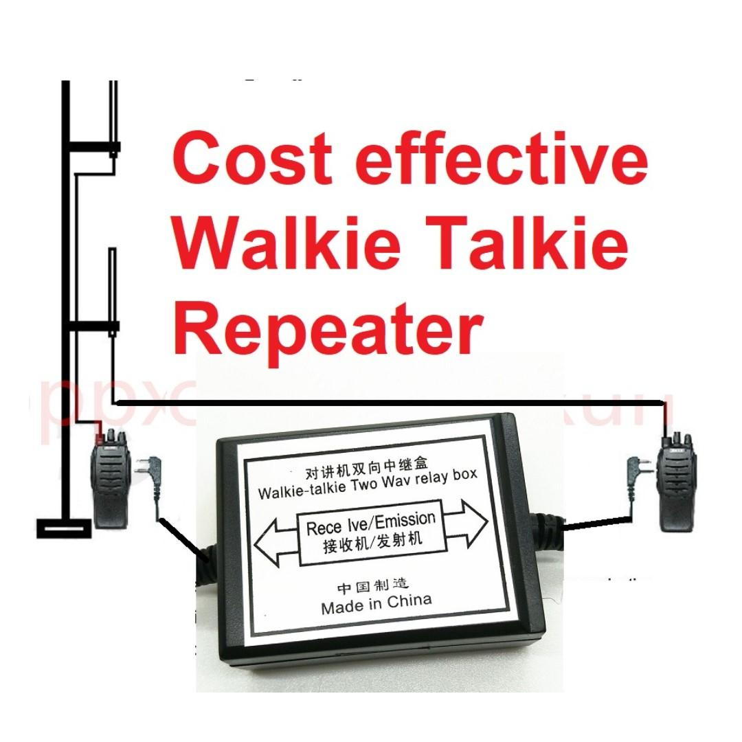 Clearance, last piece Walkie Talkie Repeater Box For Two