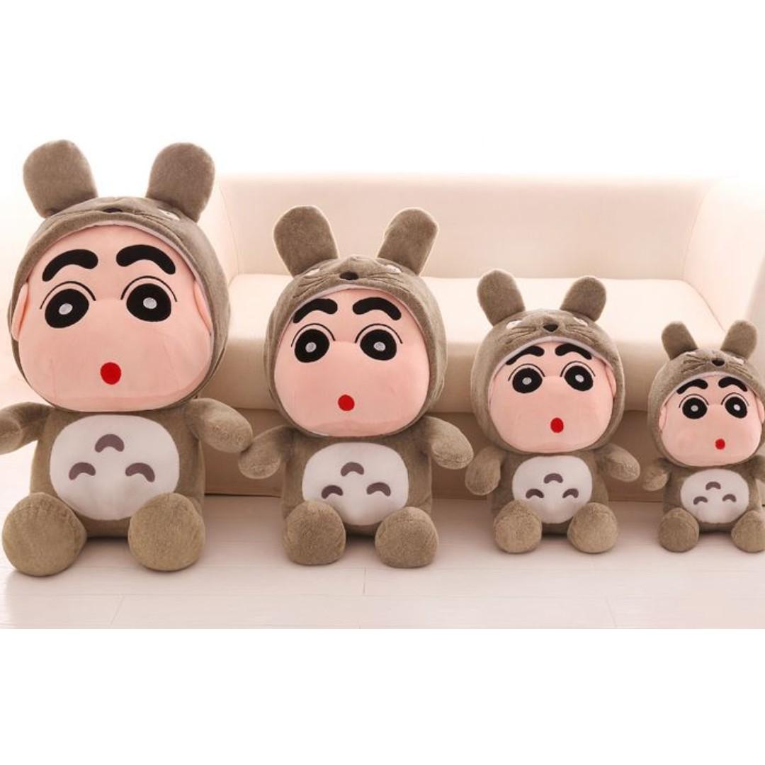 CRAYON Shin Chan Doll 80cm + FREE 1pc 20cm Shin Chan 蜡笔小新 玩偶