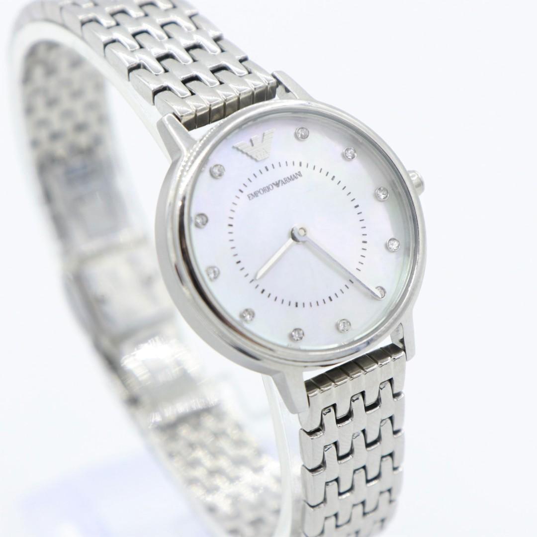 c84c412f Authentic Emporio Armani Ladies Dress Steel Watch AR2511 on Carousell