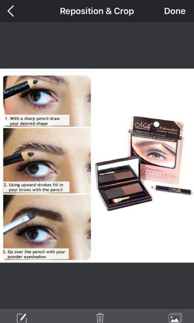Eyebrow powder