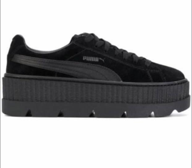 wholesale dealer e4d54 273c3 Fenty x puma suede creepers black, Women's Fashion, Shoes ...