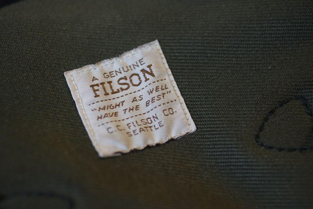 FILSON medium rugged twill field bag
