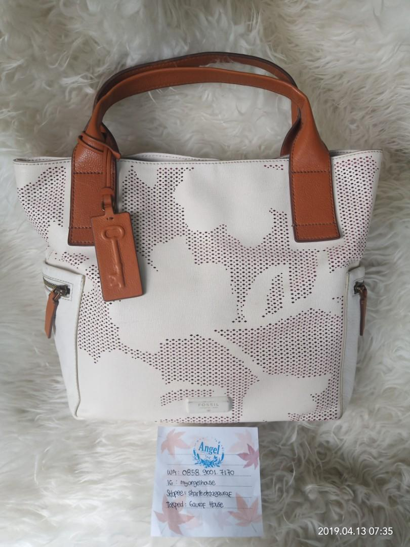 Fossil emerson coconut like new