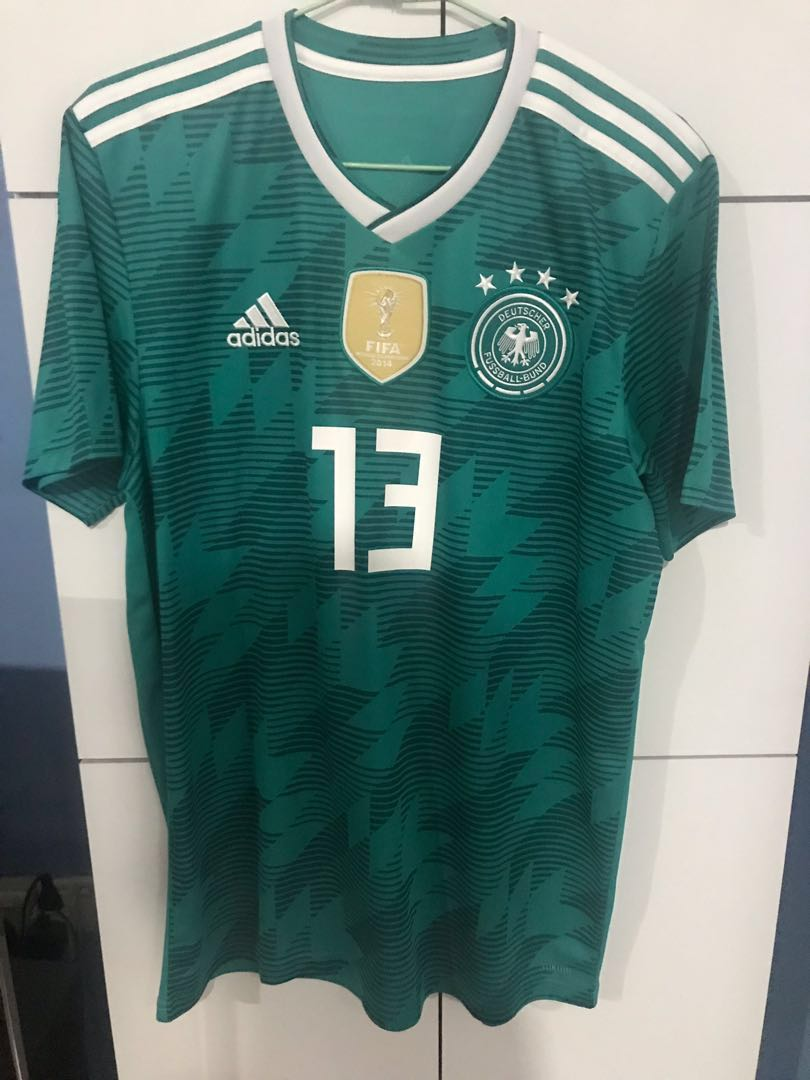 new style 174a2 a183d Germany Thomas Muller Away Jersey