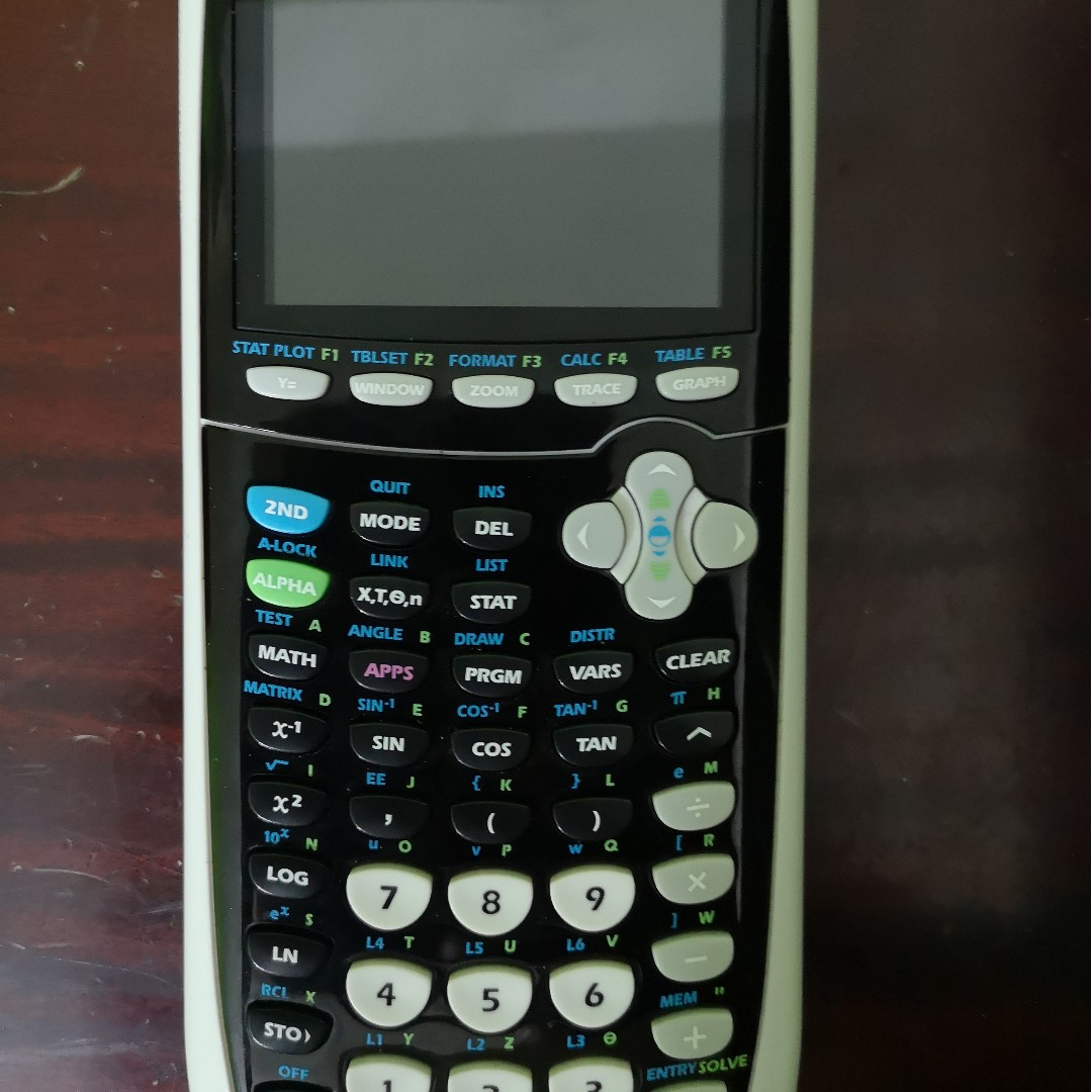 Graphing Calculator GC TI-84 Plus C Silver Edition