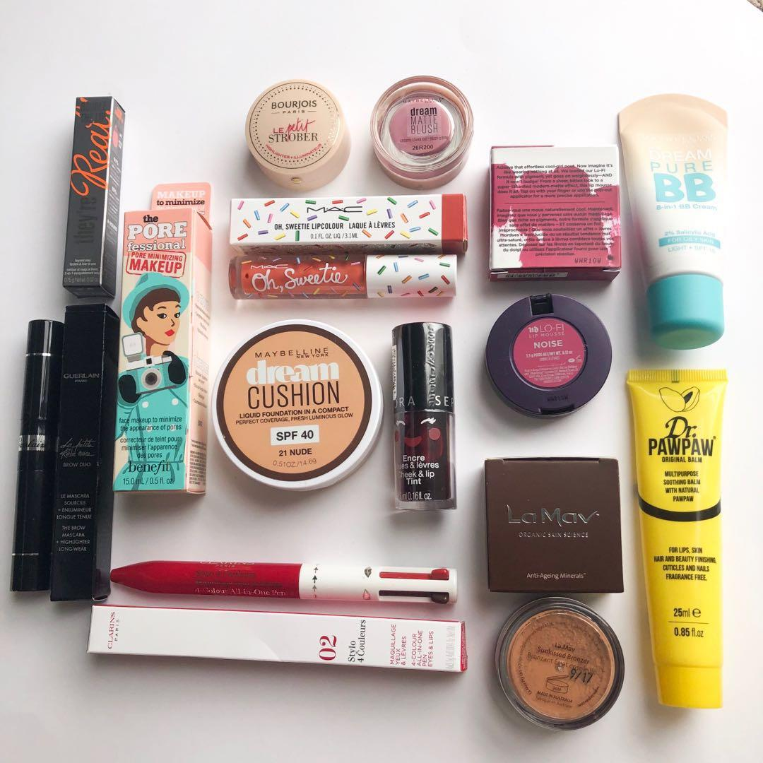Guerlain, Benefit, MAC, Urban Decay and more makeup items all brand new!
