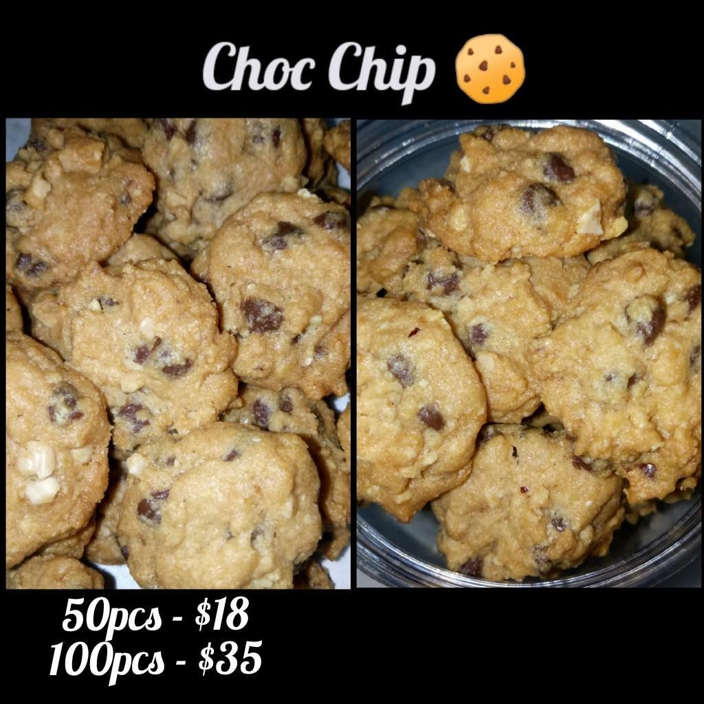 Halal Chocolate chip cookies