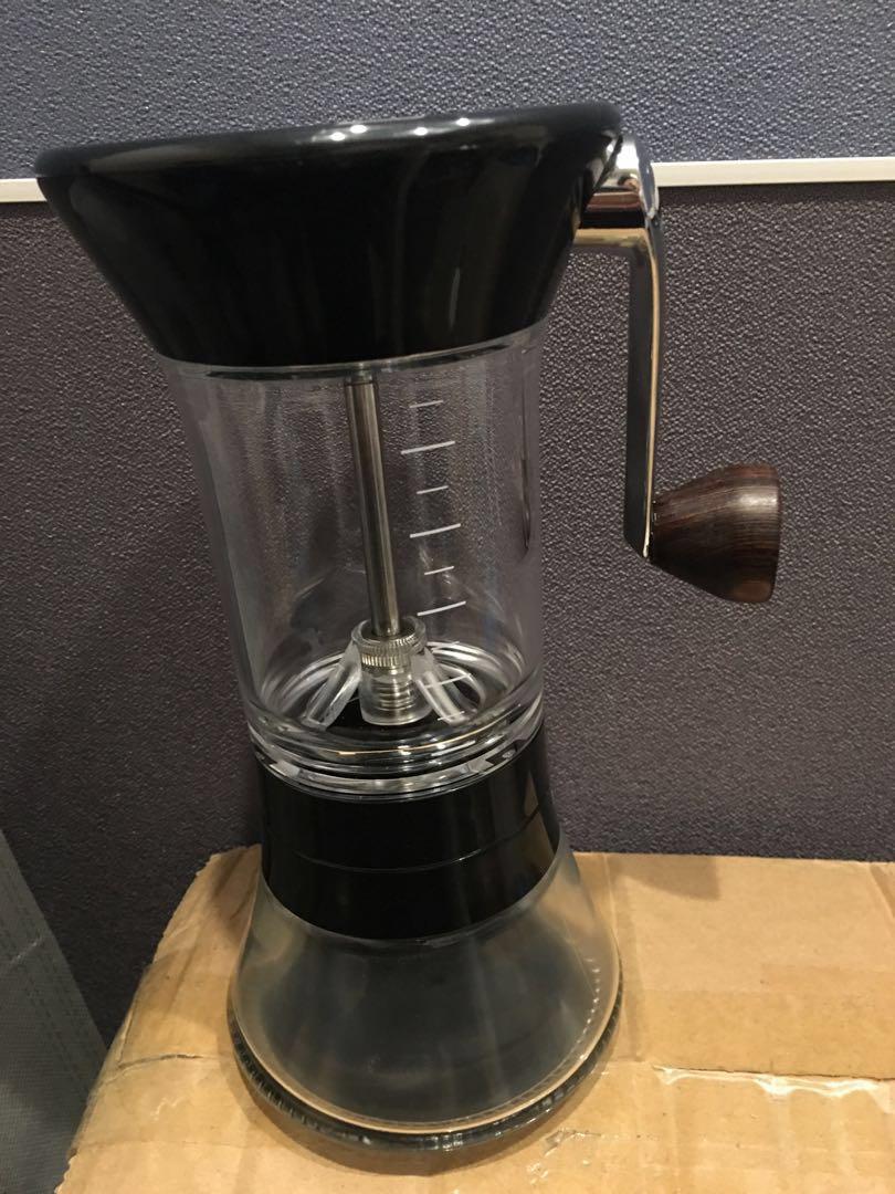 Handground coffee grinder, 未用過
