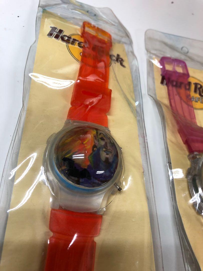 Hard Rock Cafe 復古手錶套裝