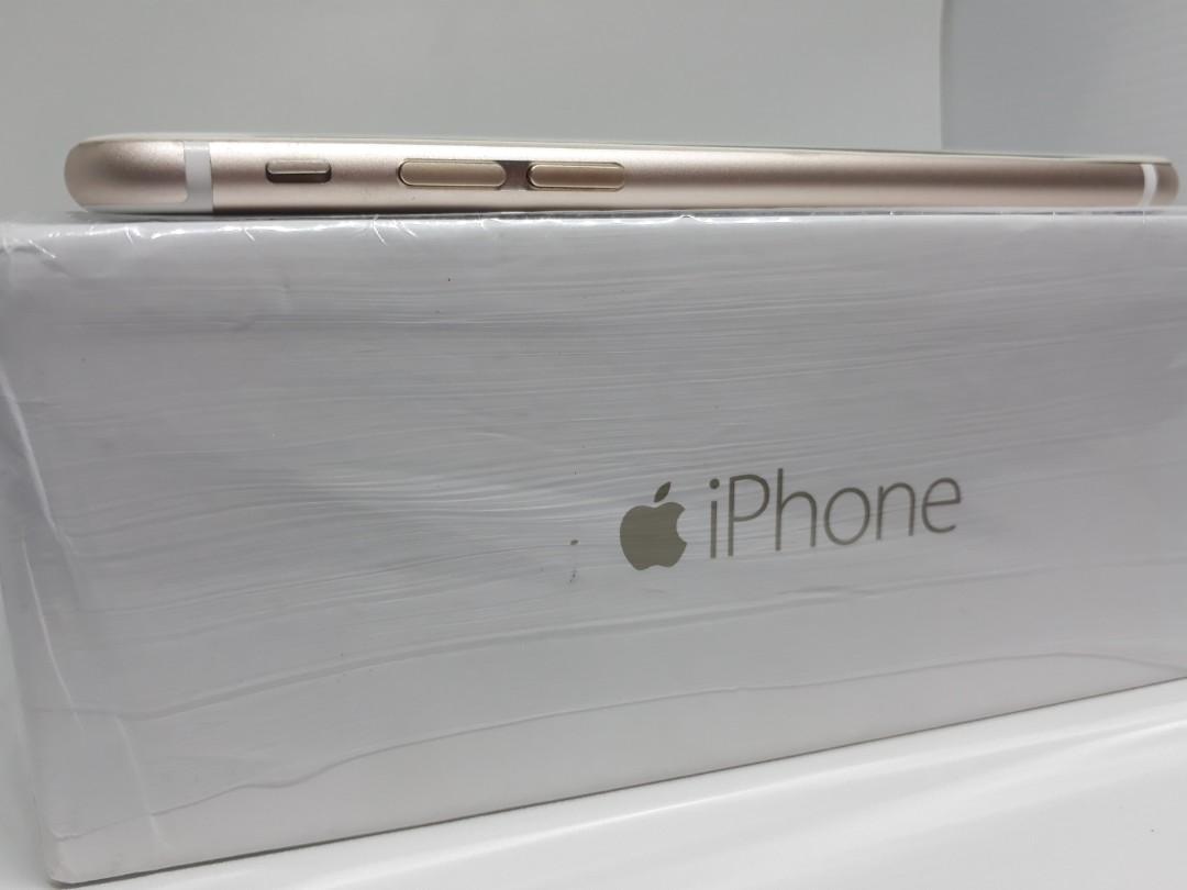 iPhone 6 64gb Gold 4G Lte Mulus Normal & Lengkap