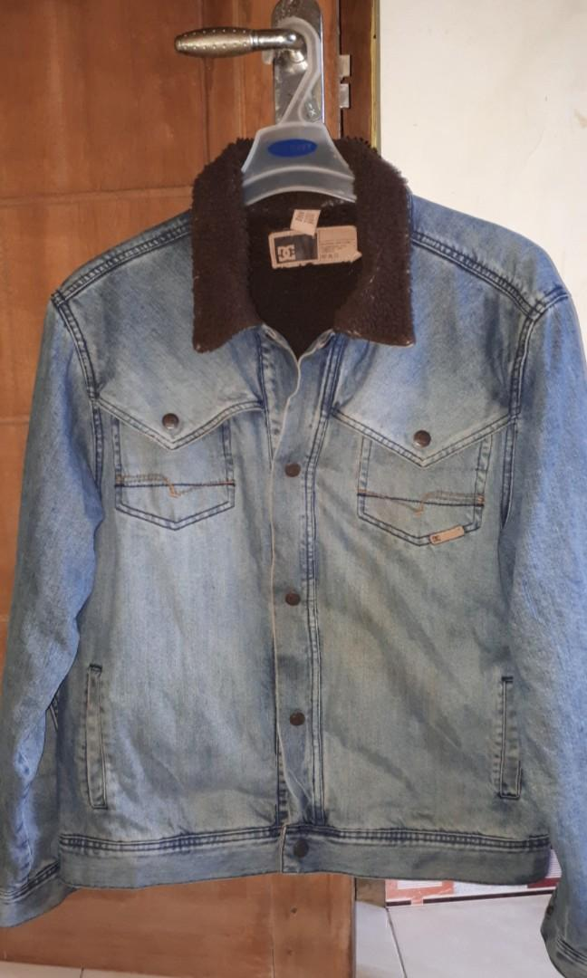 Jaket jeans dc original