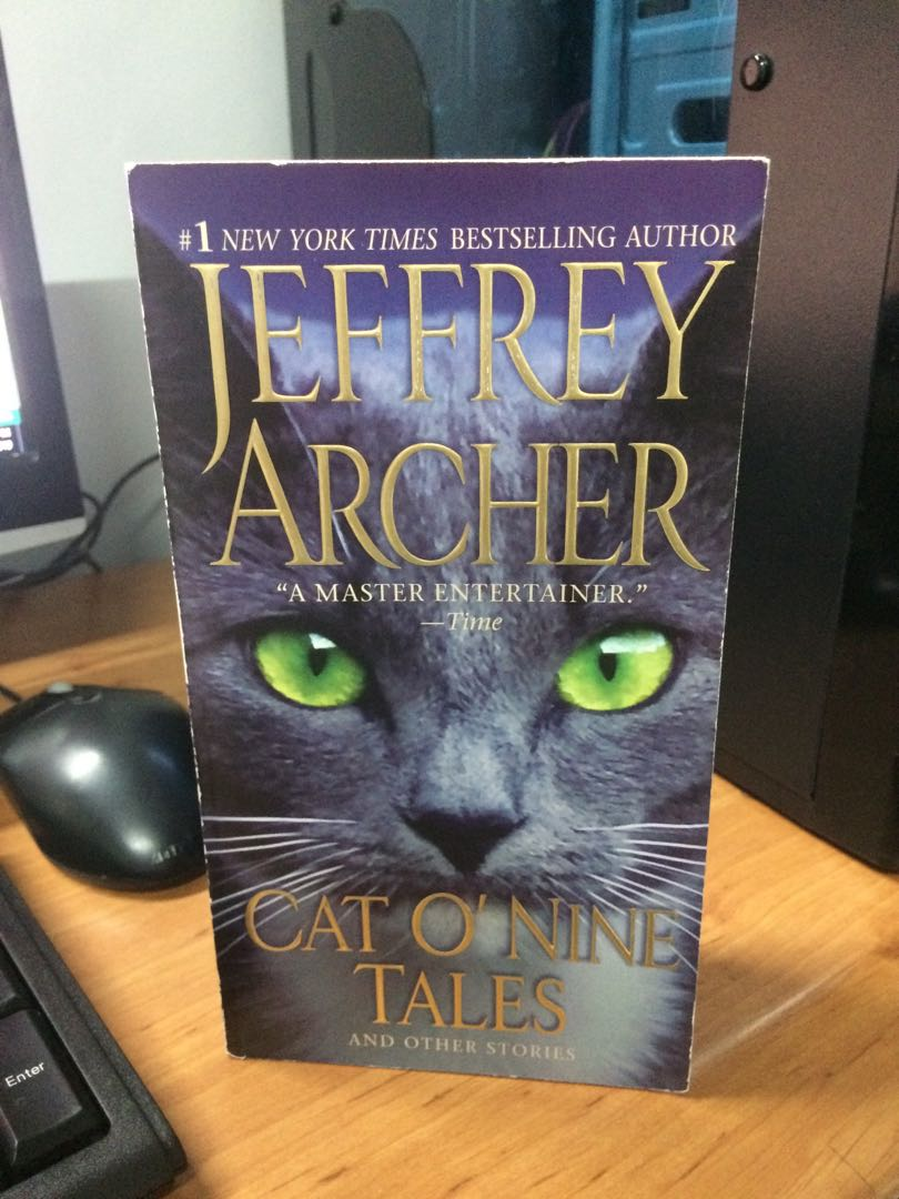 Jeffrey archer: cat o'nine tales on Carousell