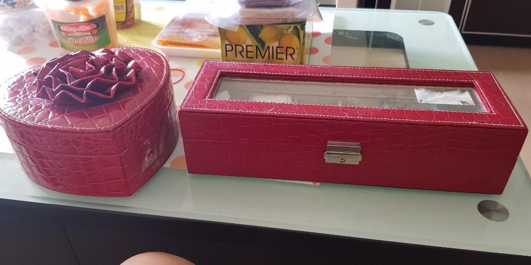 Jewellery Box and watch box