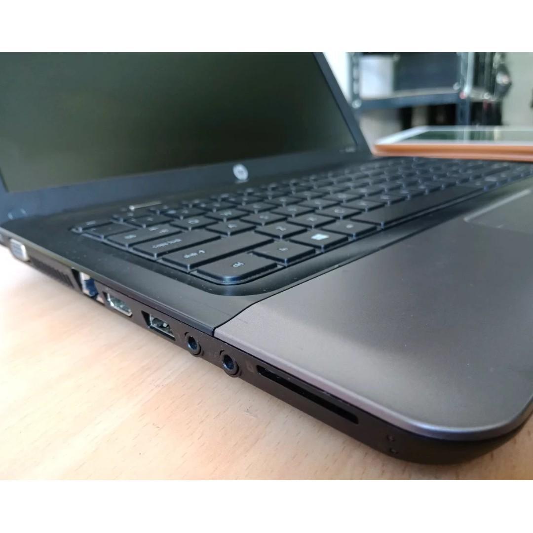 Jual Laptop HP 450 Core i5 Ram 4gb HDD 500gb Dual Vga Intel HD Graphics 4000 dan Radeon HD 7400