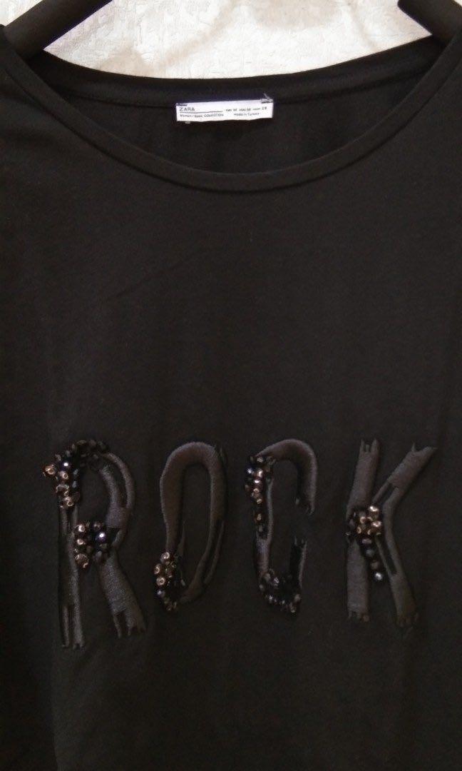 Kaos Zara basic