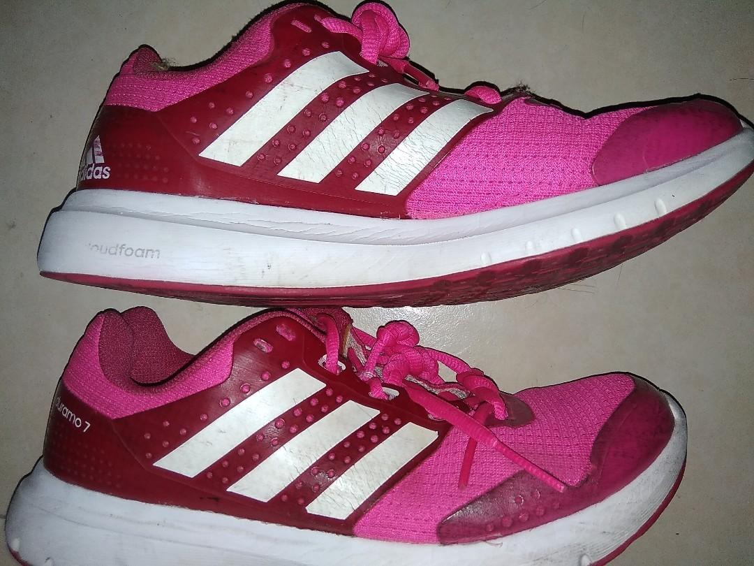 Ladies Adidas Duramo 7 size 7 Hot pink