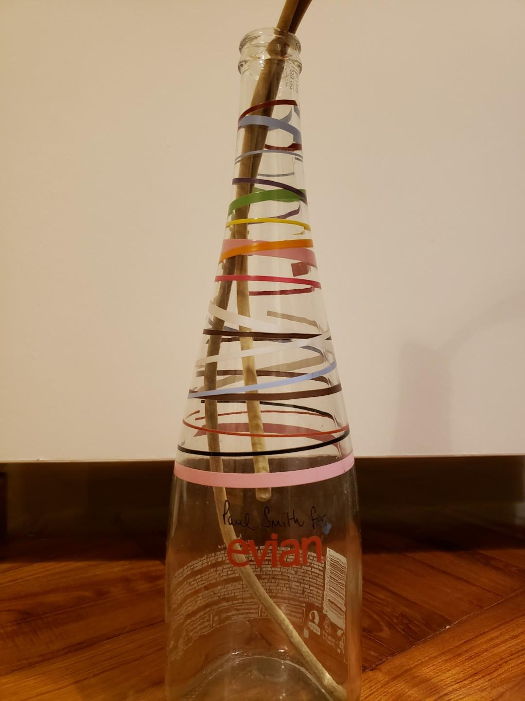 Limited edition Paul Smith x Evian bottle 2010